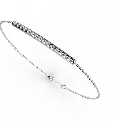 Bracelet barrette mini griff or