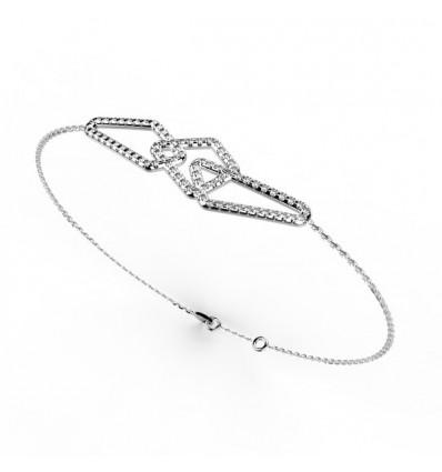 Bracelet filaire full chaine or